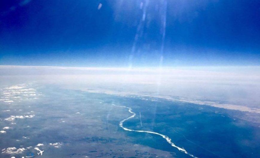 Condor flight to Hurghada