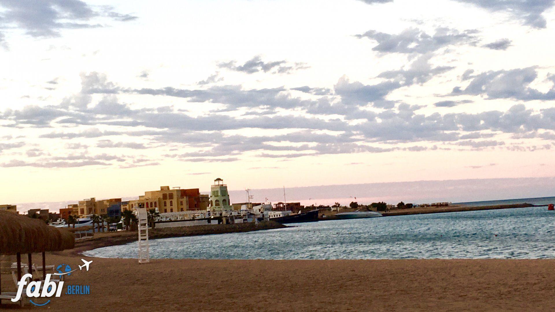 El Gouna Beach view