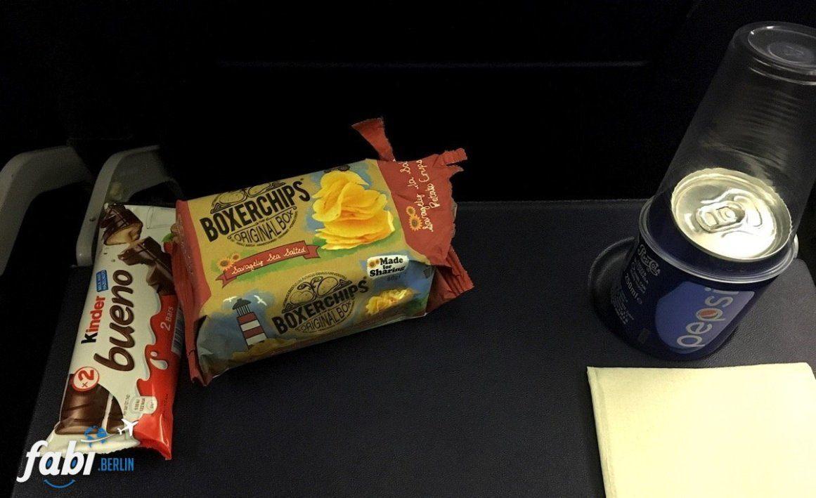 Snacks Ryanair
