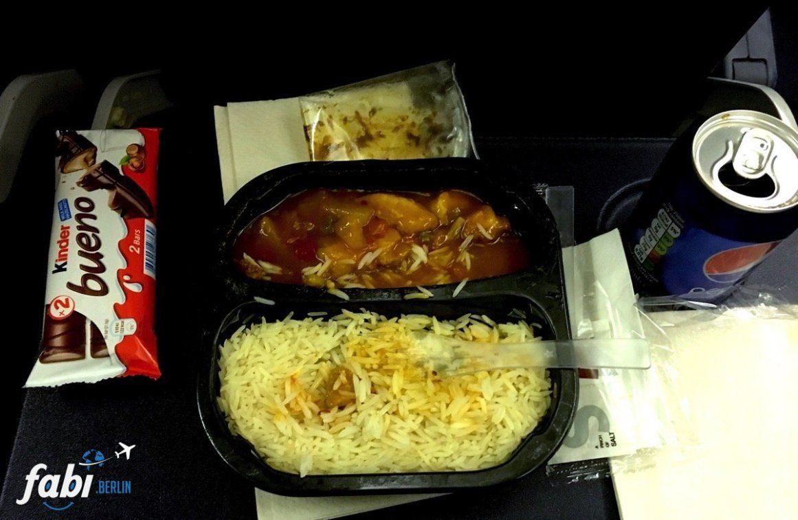 Warm dish Ryanair