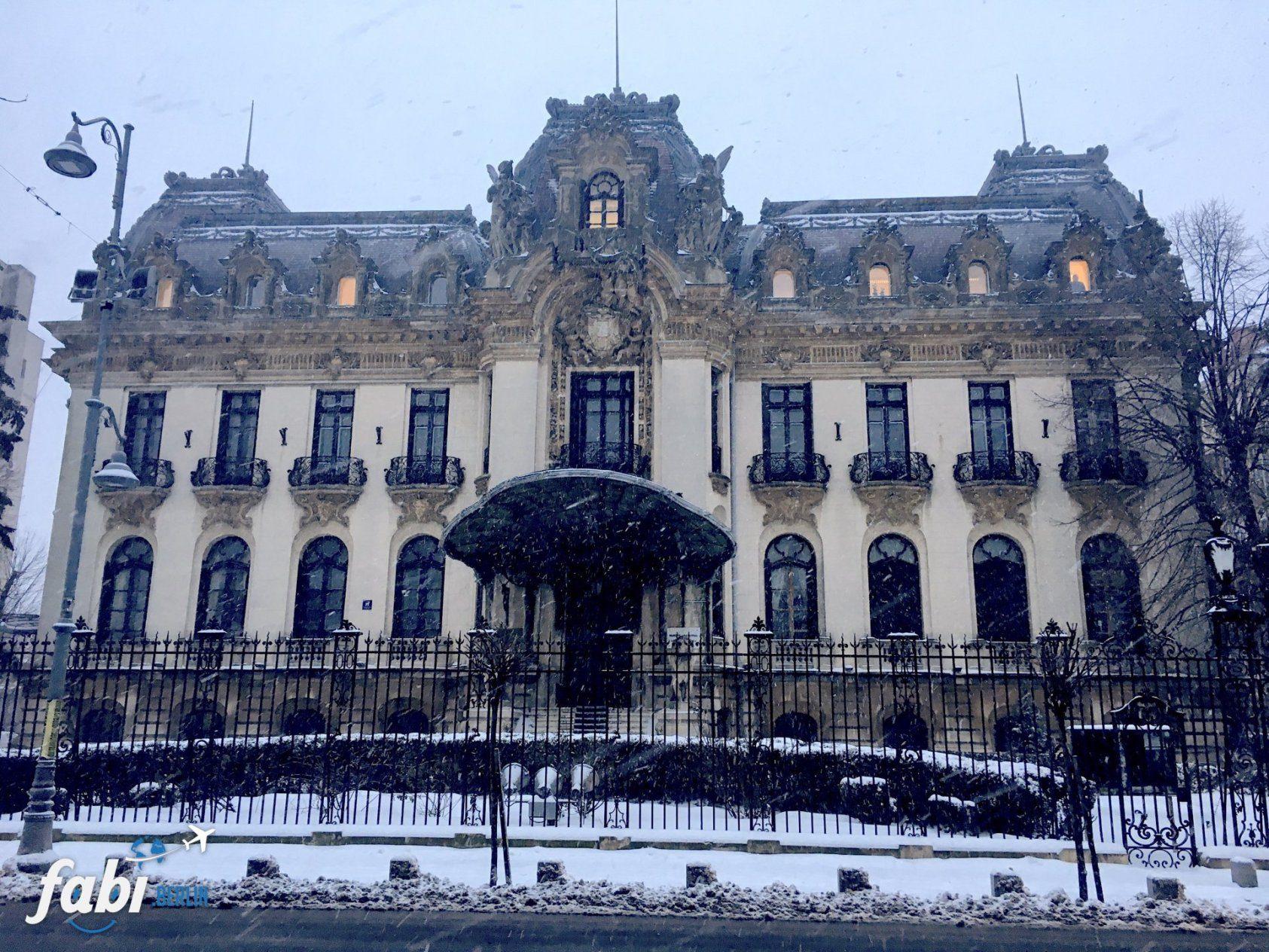 winterwonderland in Bucharest