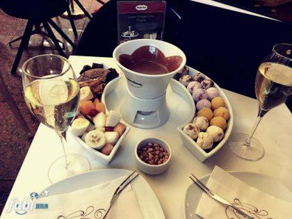 Chocolate fondue Häagen-Dazs