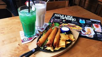 Food and drinks at Sausalitos Berlin