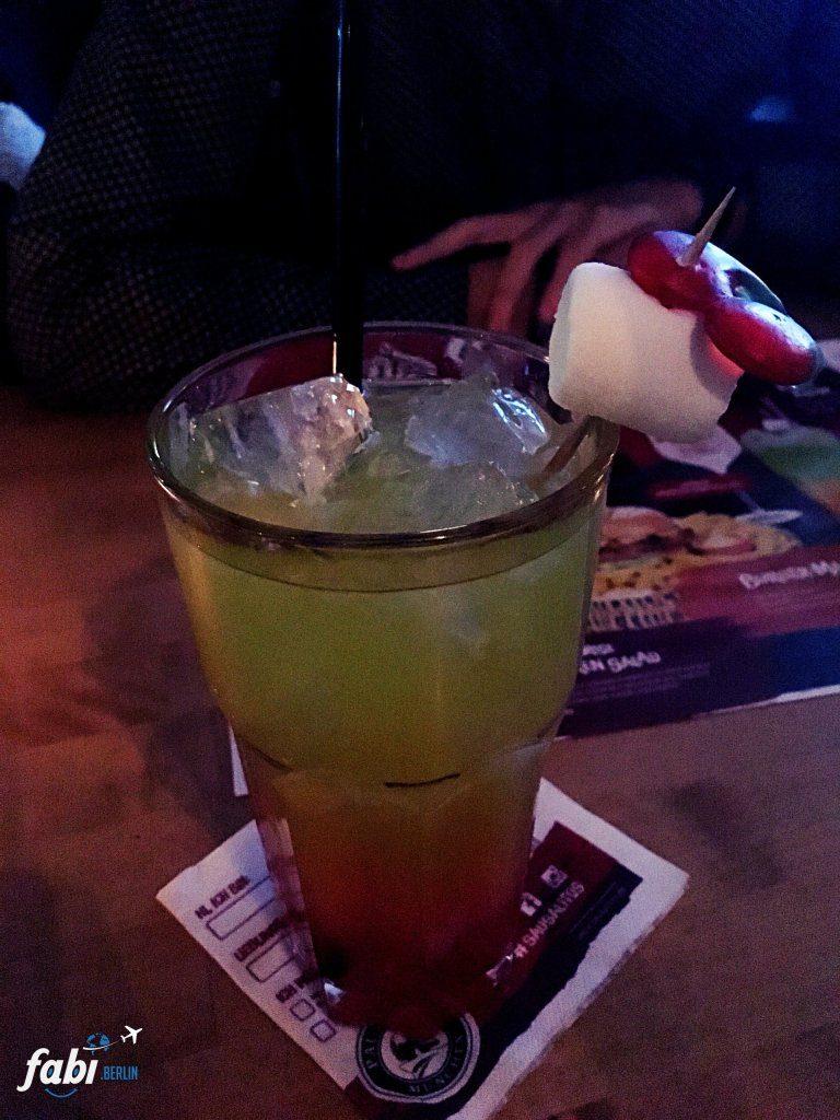 Jumbo Cocktail at Sausalitos Berlin