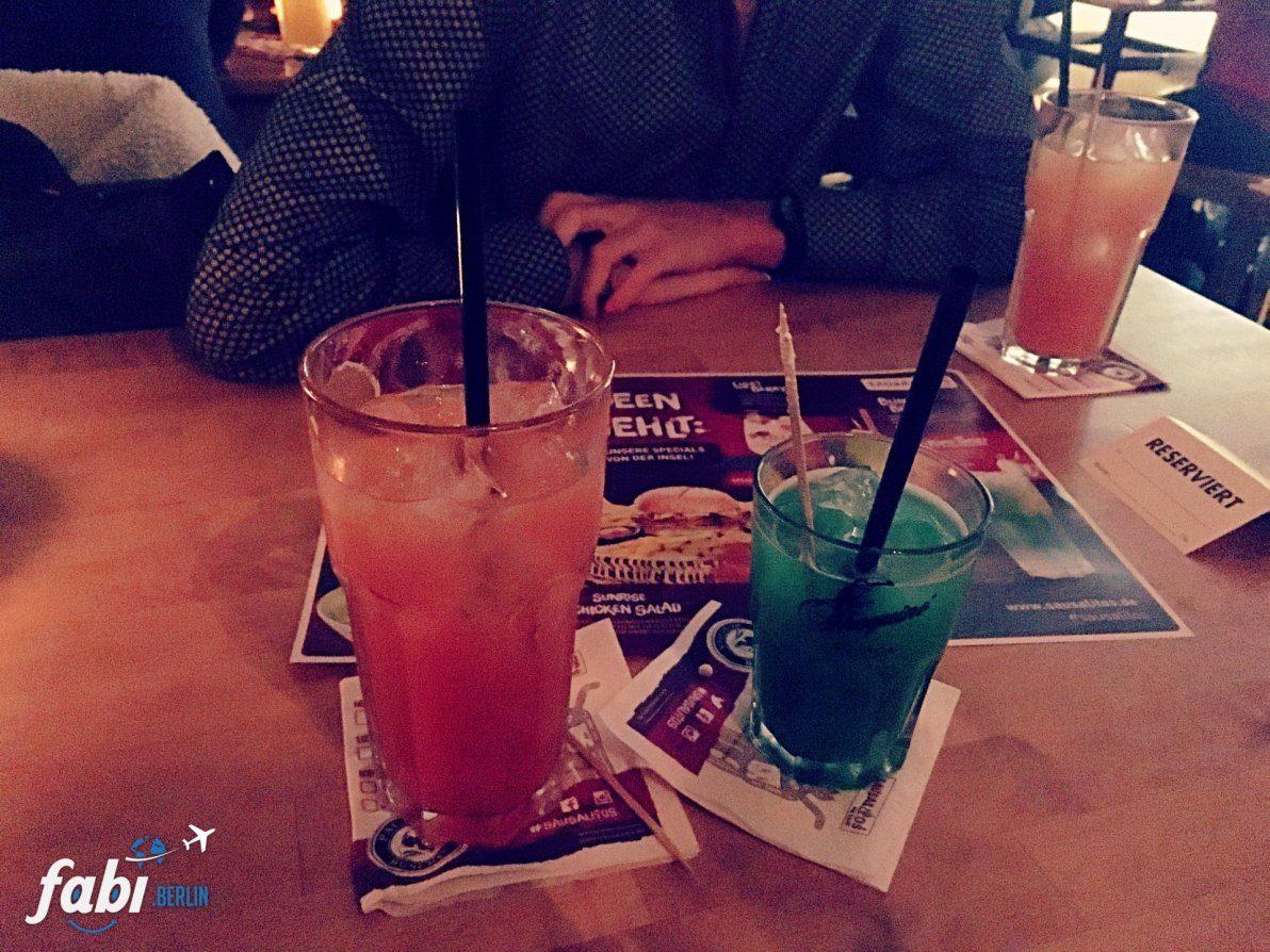 Cocktails at Sausalitos Berlin