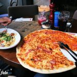 L'Osteria big pizza