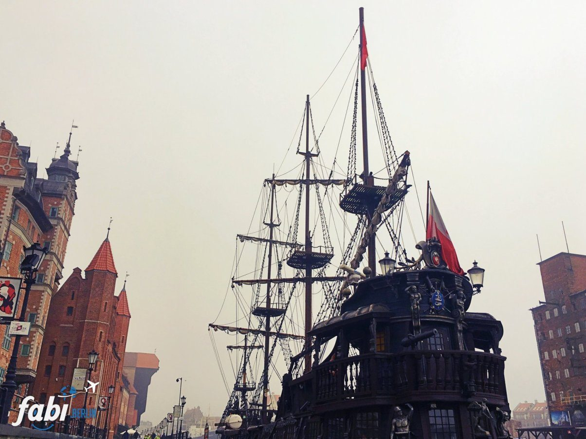 Gdansk pirate ship