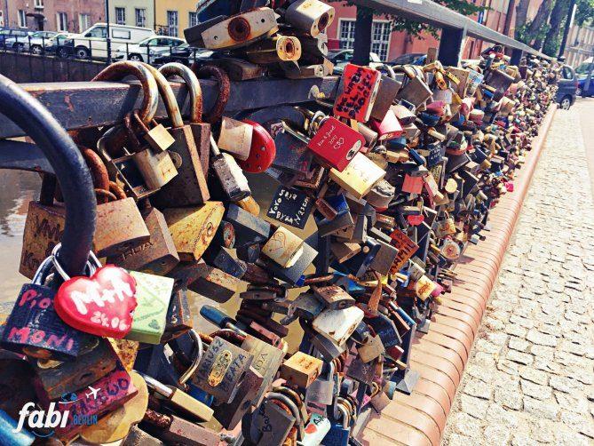 Gdansk love locks