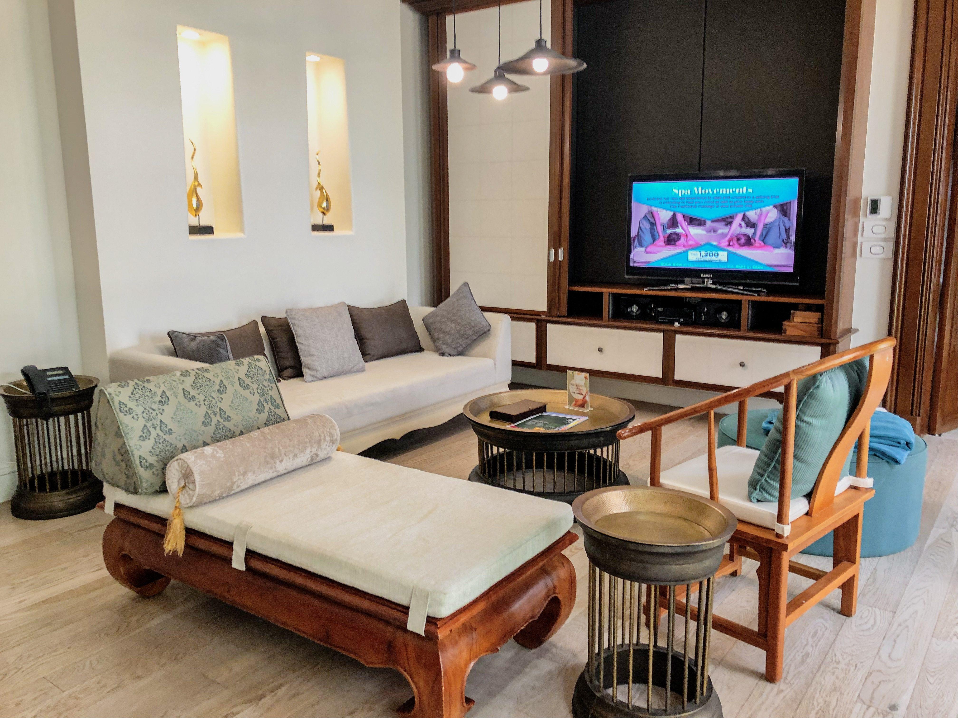Maikhao Dream Villa Living room