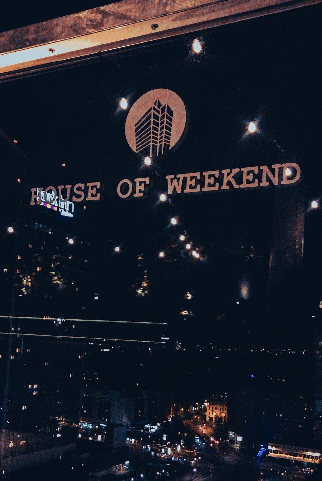 House of weekend Berlin Rooftop berlin